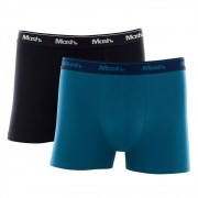 Kit c/ 2 Cuecas Boxer Cotton Adulto