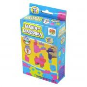 Mania de Massinha Pocket com Formatos DM Toys Infantil
