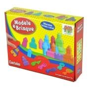 Massinha Modele e Brinque Tema Castelo Brinquedo INfantil DM Toys