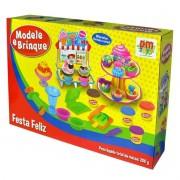 Modele e Brinque Festa Feliz DM Toys