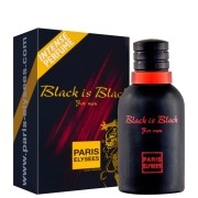 Perfume Masculino Black is Black Paris Elysees 100ml