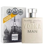 Perfume Masculino Vodka Man Paris Elysees 100ml