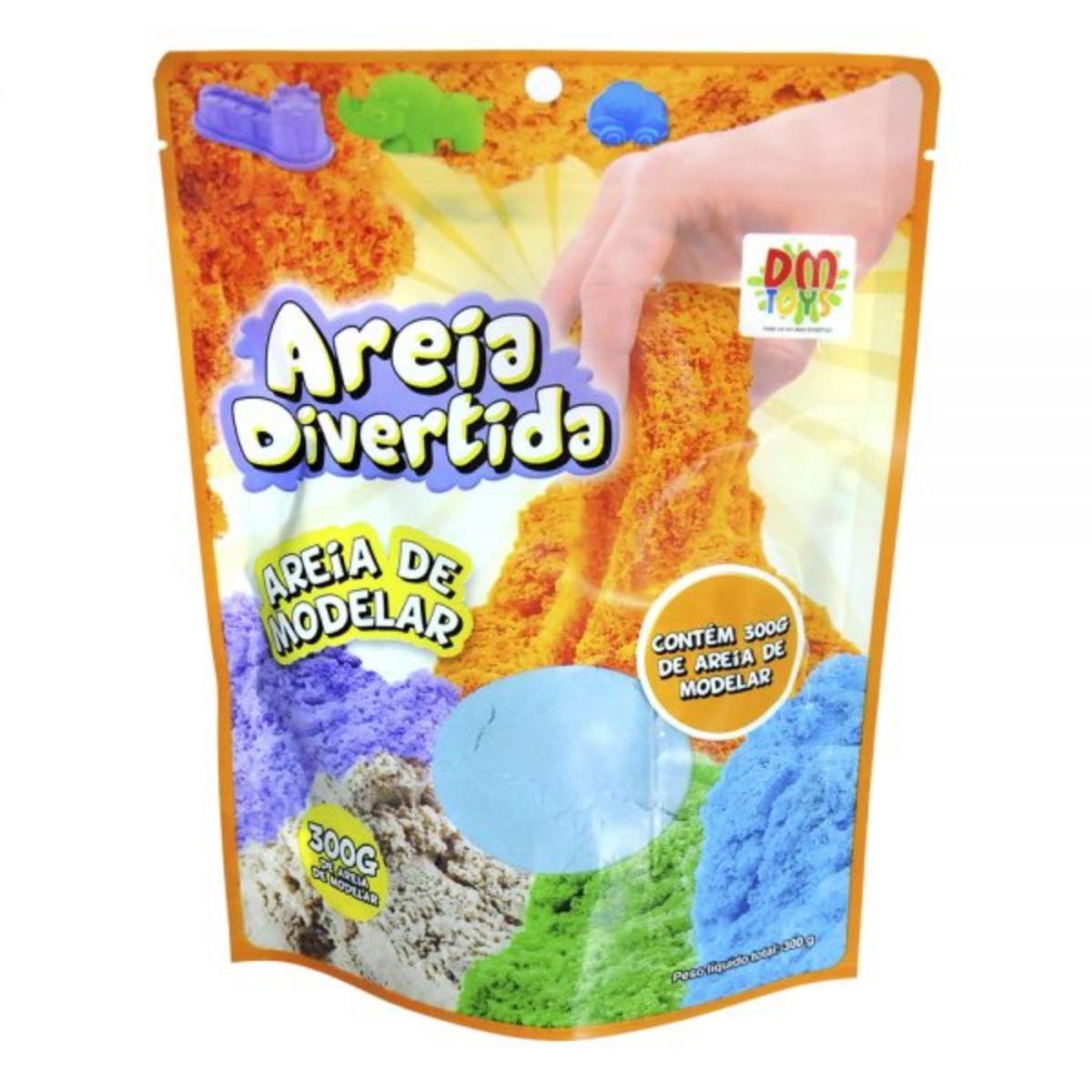 Areia Divertida Refil 300g Dm Toys