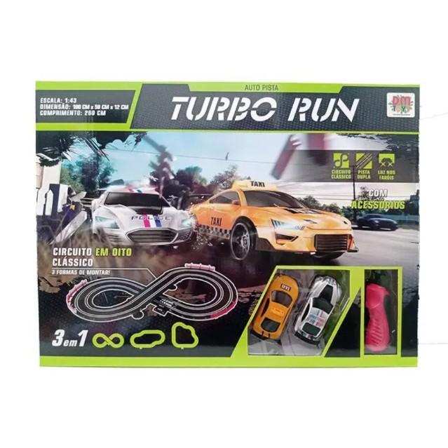 Auto Pista Turbo RUN Circuito 3 Formatos