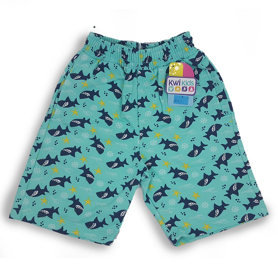 Bermuda masculina Infantil Tubarão Kwi Kids