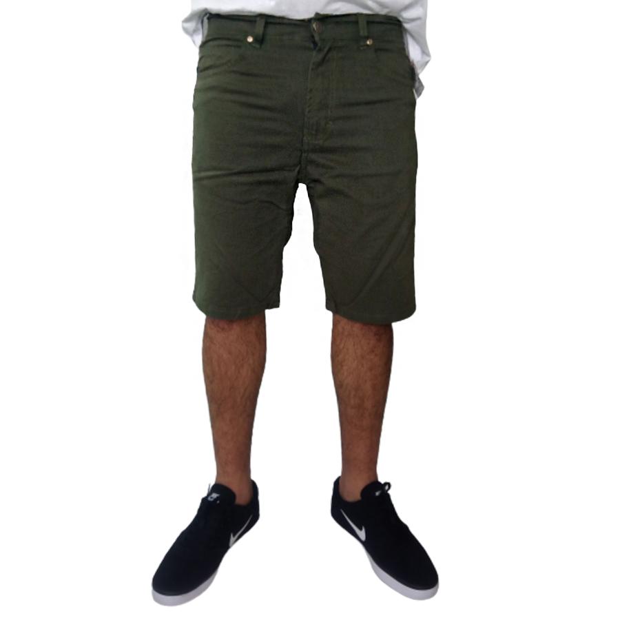 Bermuda Masculina Sarja Color c/ Lycra Young Style