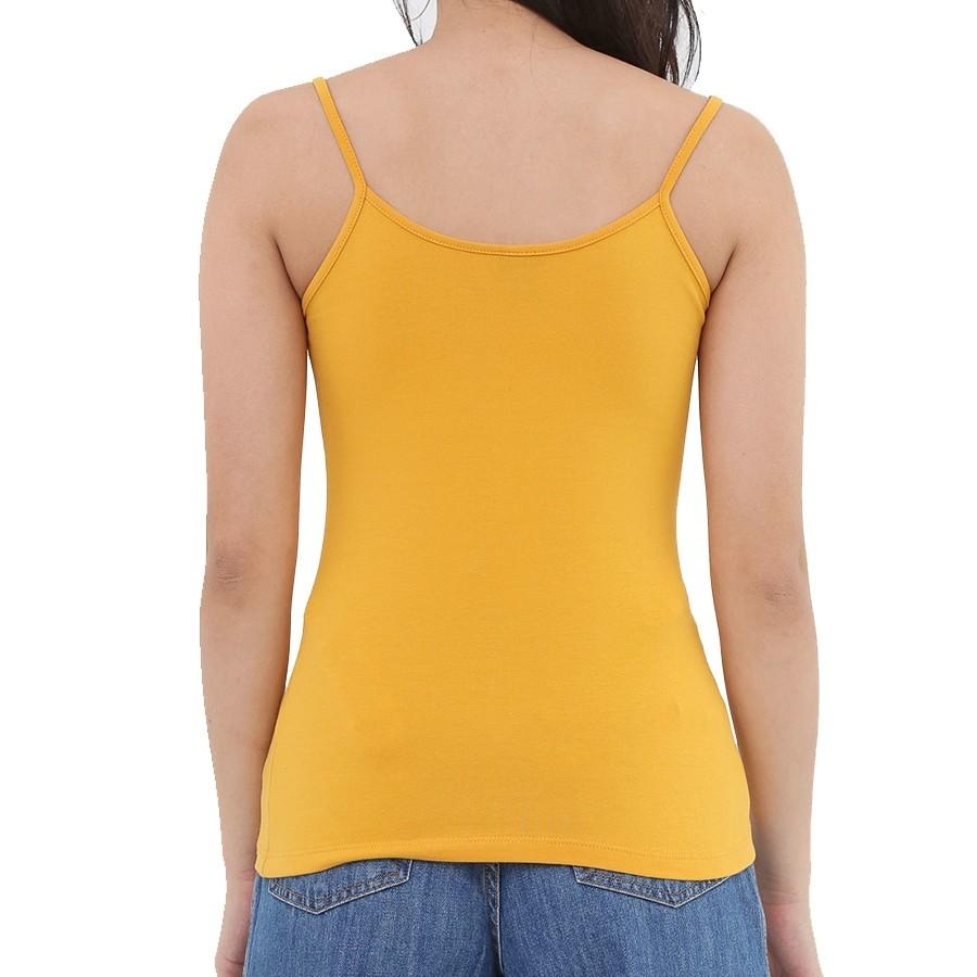 Blusa Regata Feminina Preto ou Amarela Malwee Adulto