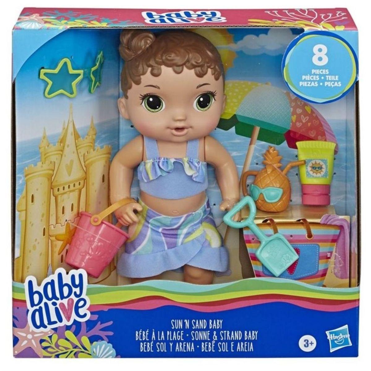 Boneca Hasbro Baby Alive Sol e Areia