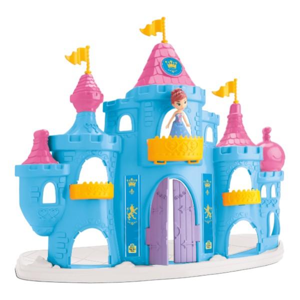 Boneca Princesa Snow Castelo Brinquedo Infantil