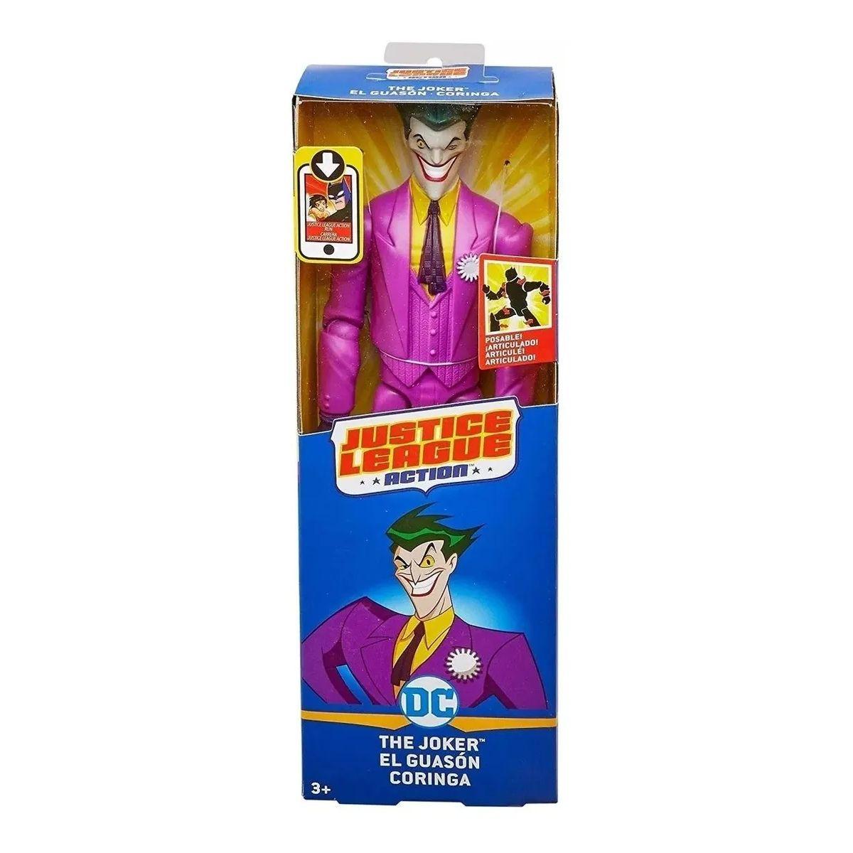 Boneco Coringa Liga da Justiça Mattel