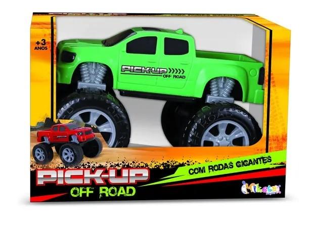 Brinquedo Pick-Up Off Road Infantil Miketa