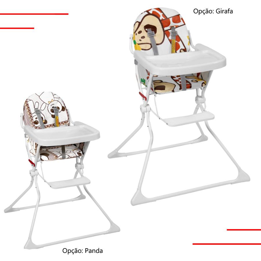 Cadeira Alta Cadeirão p/ Refeição e Alimentação Standard II Galzerano