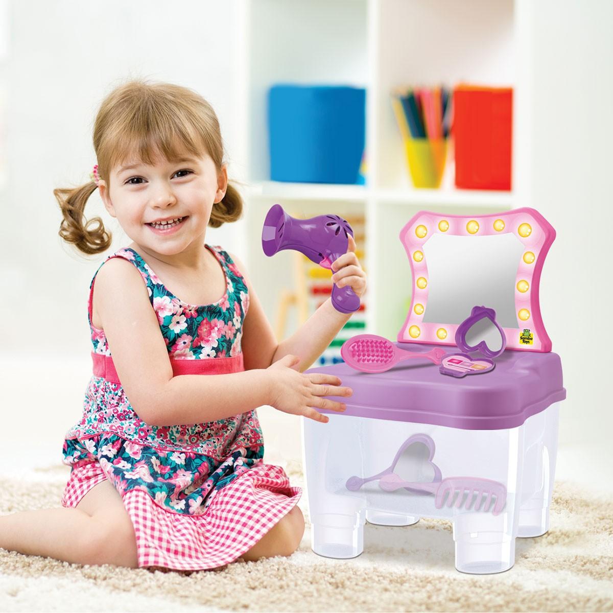 Cadeirinha Camarim Fashion com Acessorios Brinquedo Infantil
