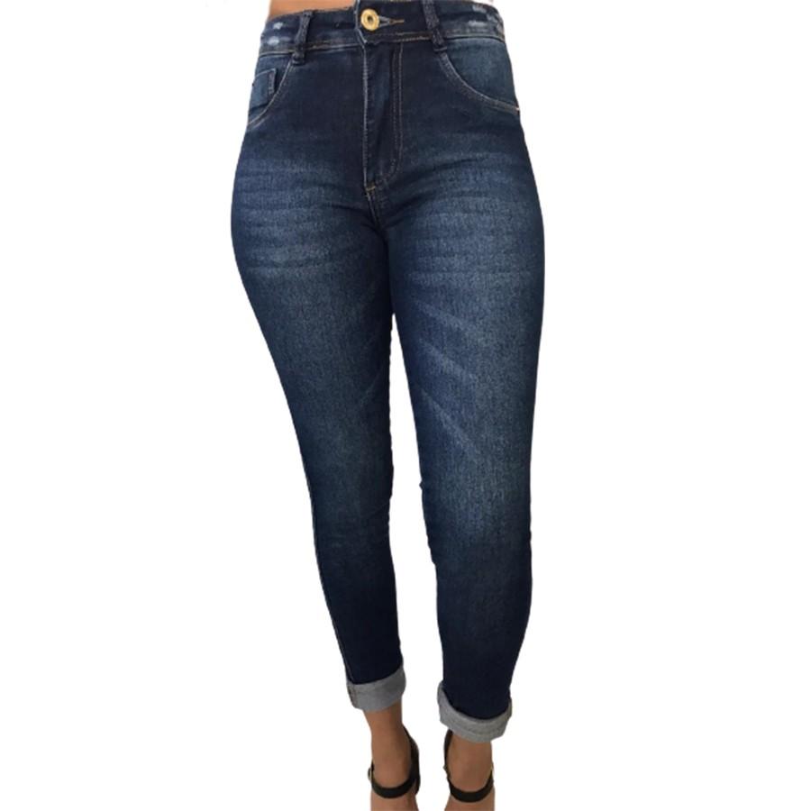 Calça Biotipo Jeans Skinny Com Lycra Feminina