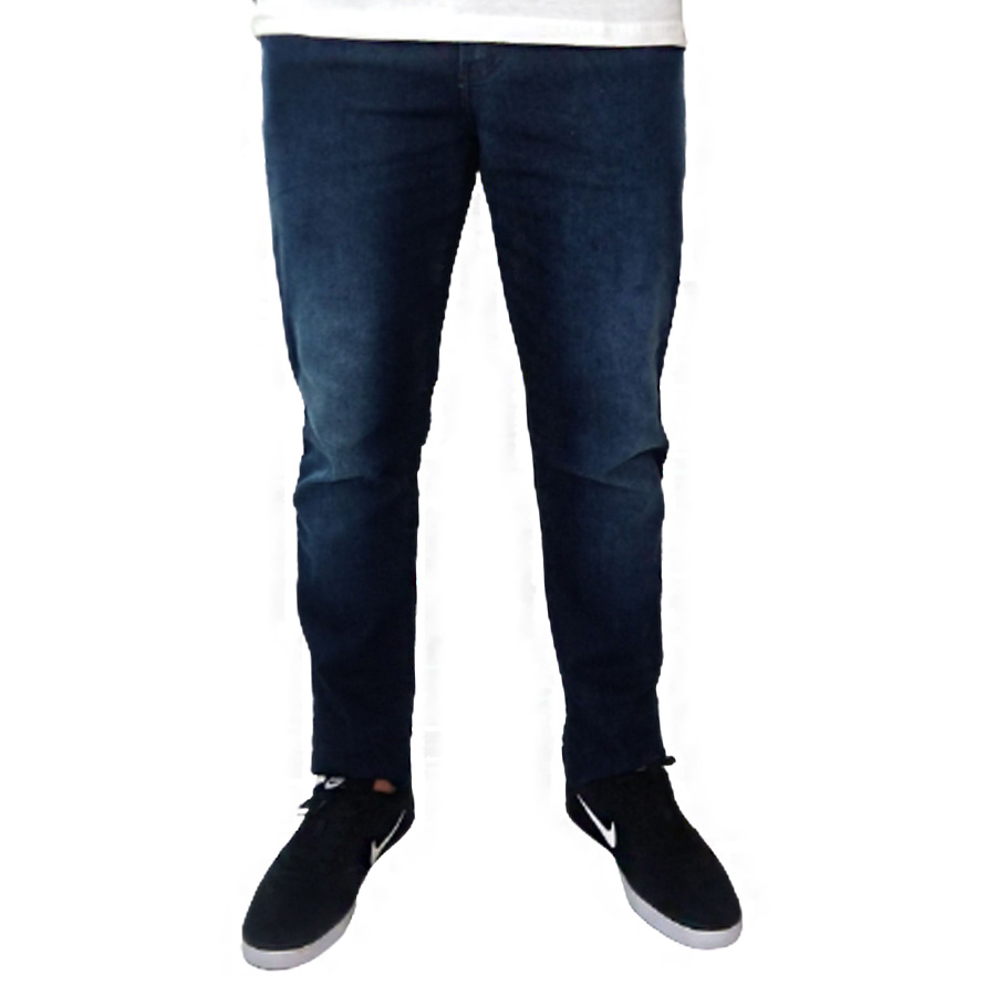 Calça Jeans Masculina c/ Lycra e Lavagem Pollice Office