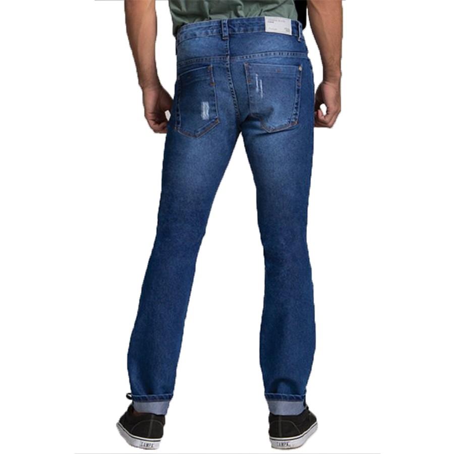 Calça Jeans Masculina Lemier com Lycra Premium Skinny Fit