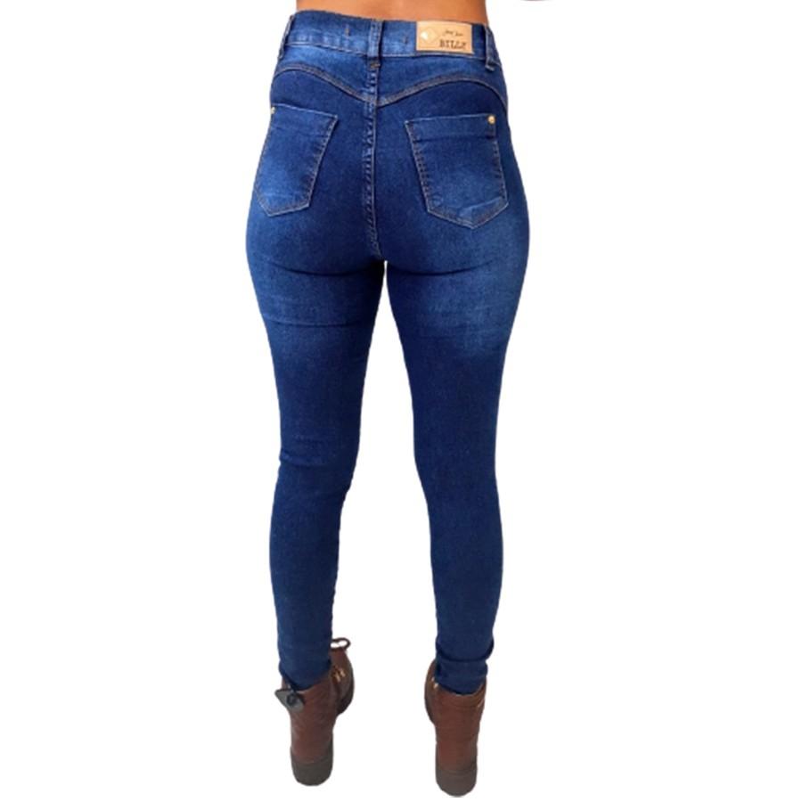 Calça Skinny com Lycra Billy Jeans Feminina Adulto