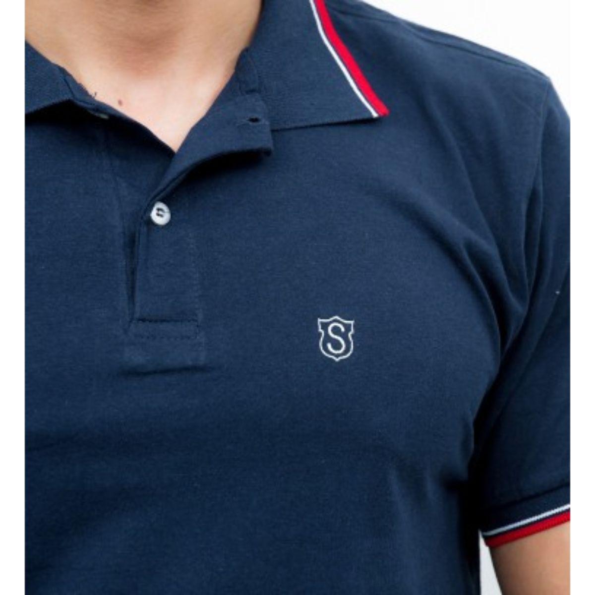 Camisa Sudotex Polo Lisa Básica Masculino