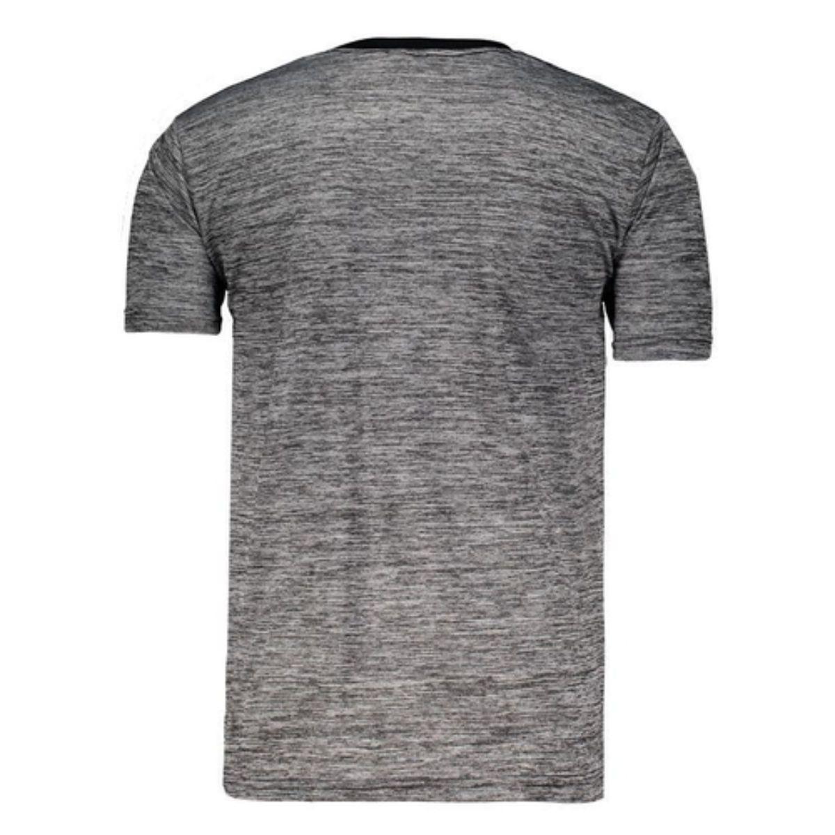 Camiseta Kappa Oggi Cinza Mescla