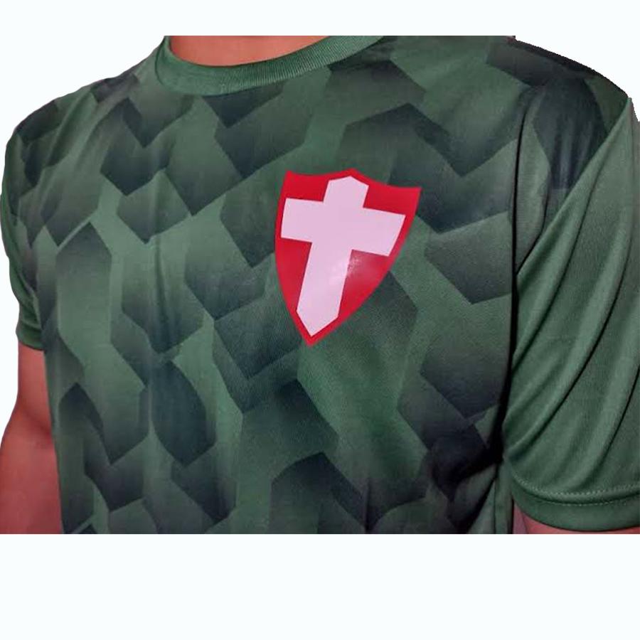 Camiseta Palmeiras Retro Verdão Sobretom Oficial Licenciada