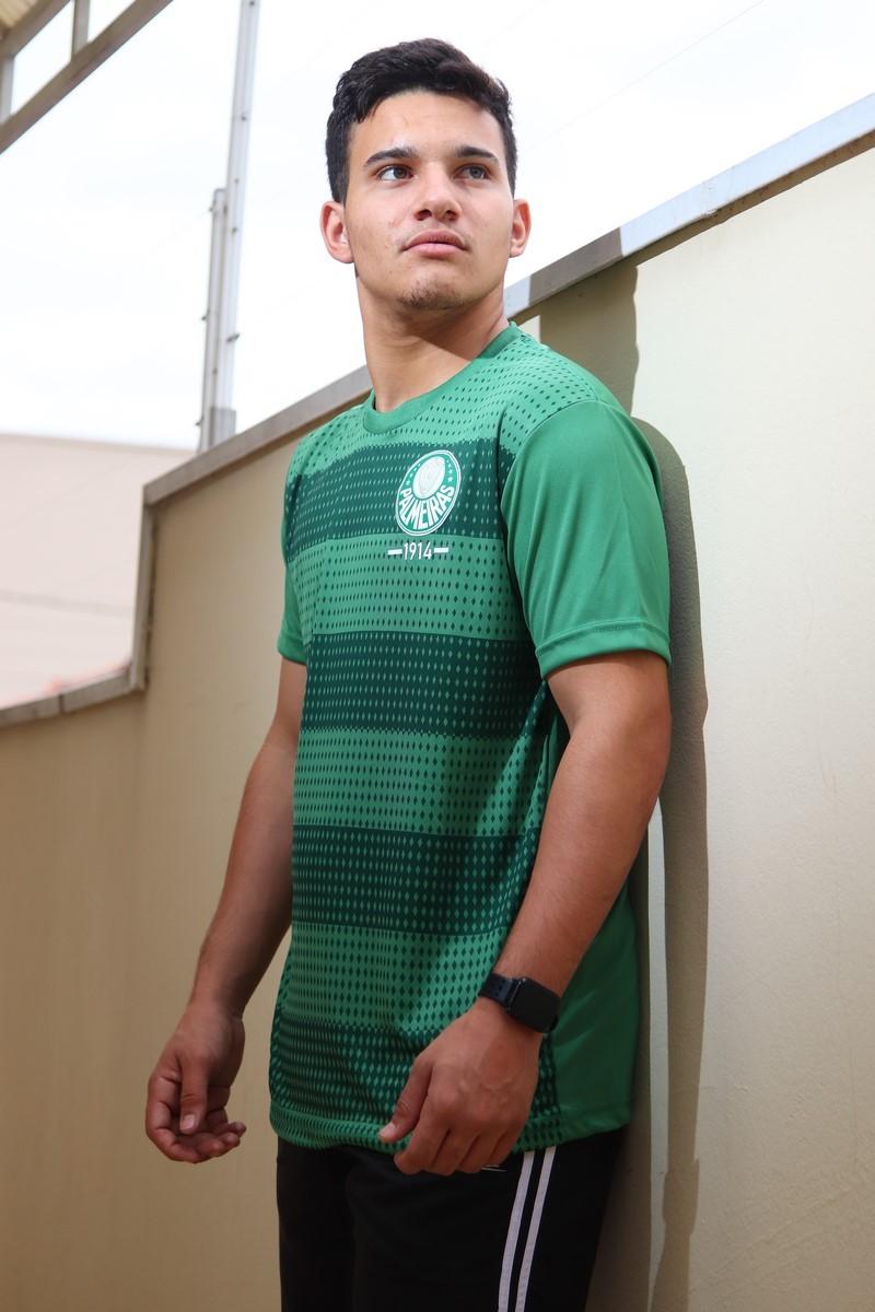 Camiseta Palmeiras Verdão S.E.P Classic Verde Masculino SPR