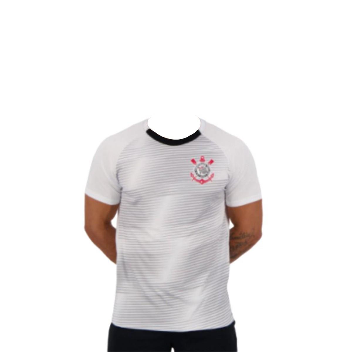 Camiseta SPR Corinthians Scrawl Branca