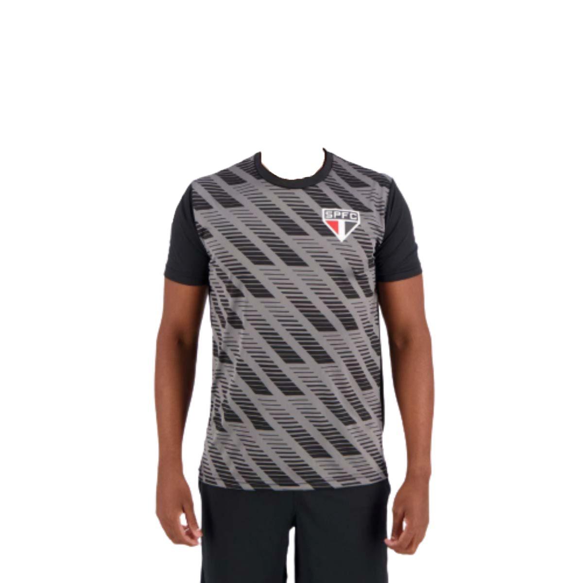 Camiseta SPR São Paulo Rain Preta
