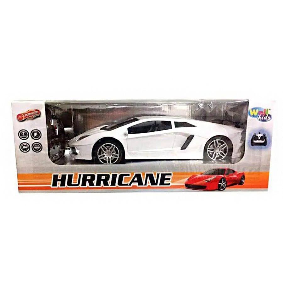 Carro com Controle Remoto sem Fio Hurricane Colors 7 Funcoes com Luz Wellkids