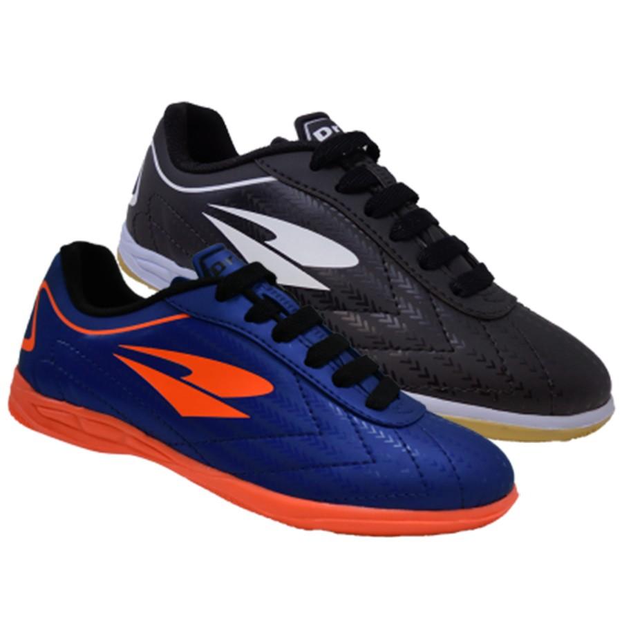 Chuteira Futsal Infantil Preta ou Marinho Dray Indoor Quadra
