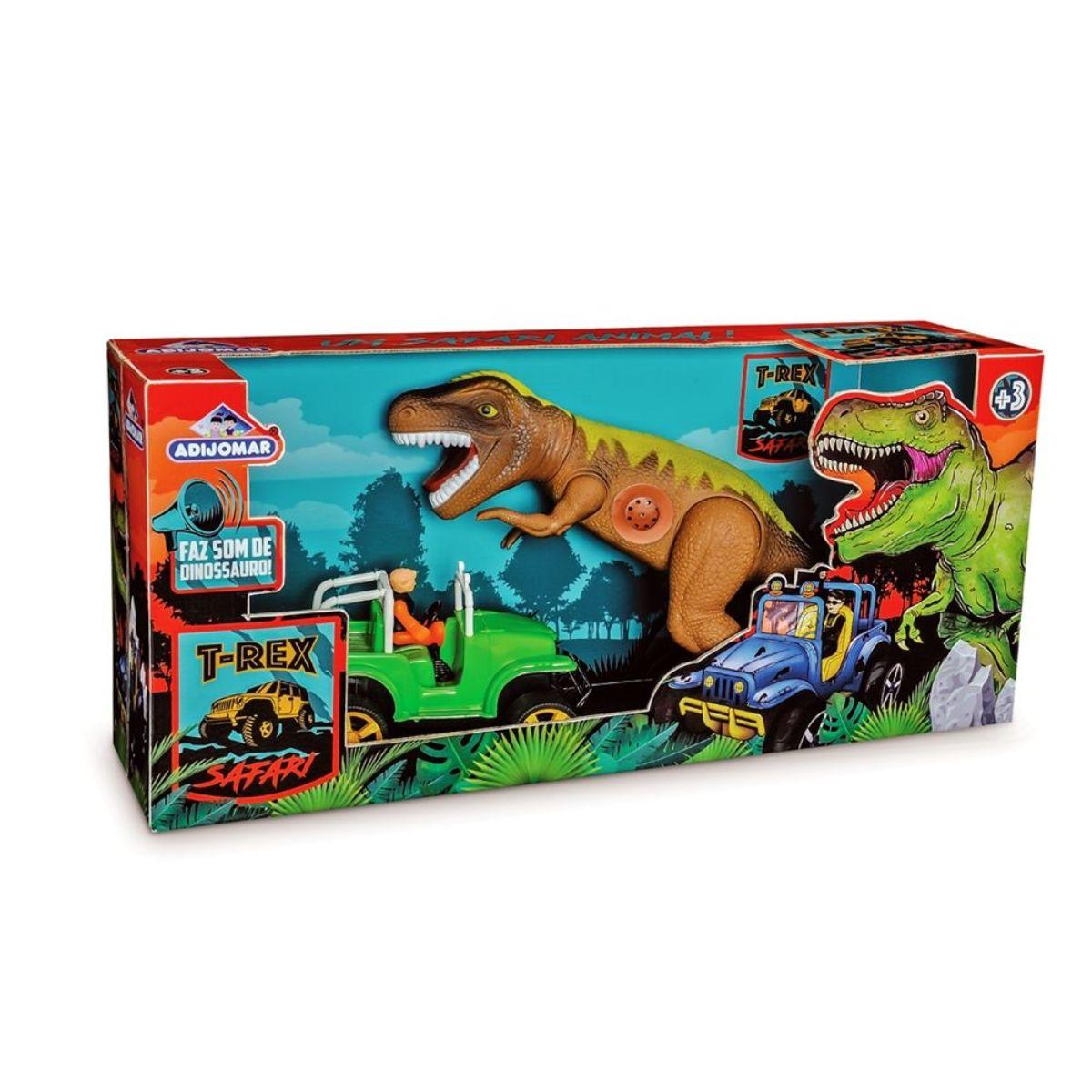 Dinossauro T-Rex Safari Adijomar