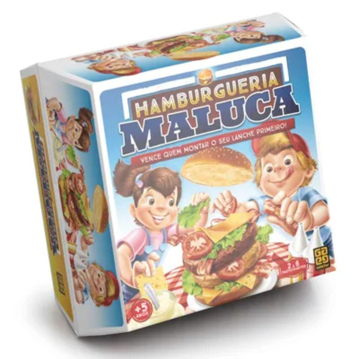 Jogo Grow Hamburgueria Maluca