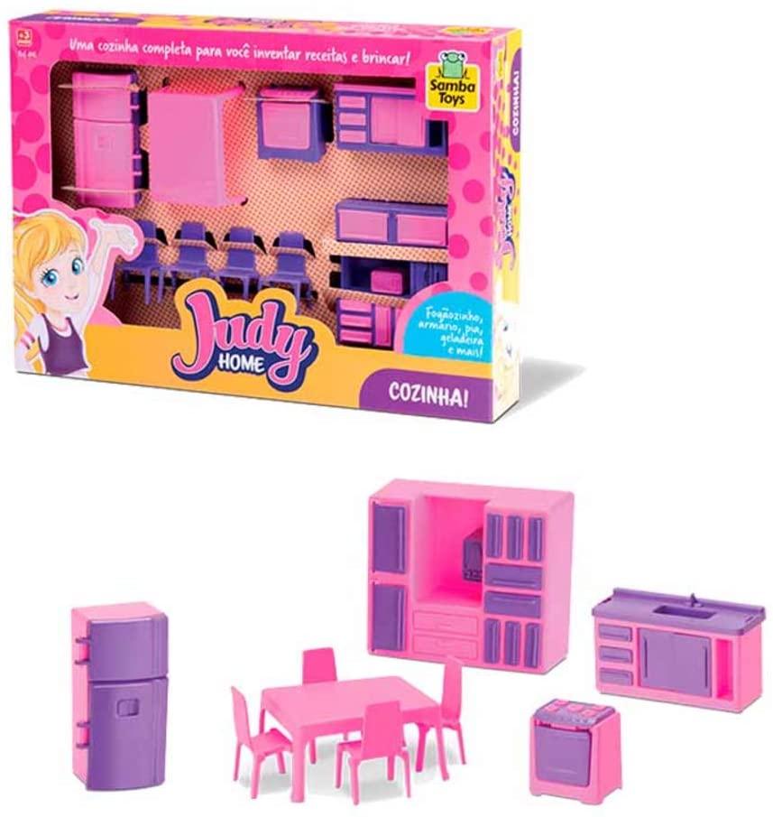 Judy Home Cozinha Samba Toys Brinquedo Infantil