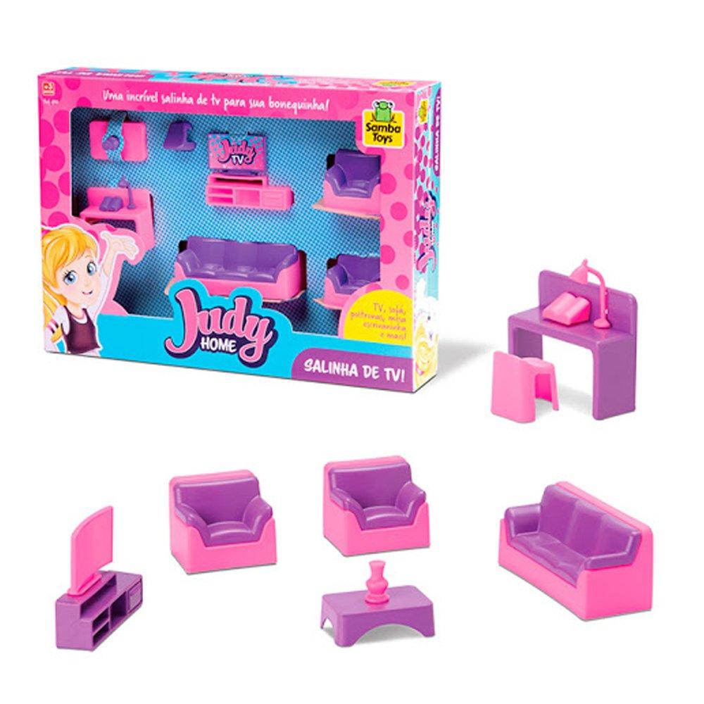 Judy Home Salinha de TV Samba Toys Brinquedo Infantil