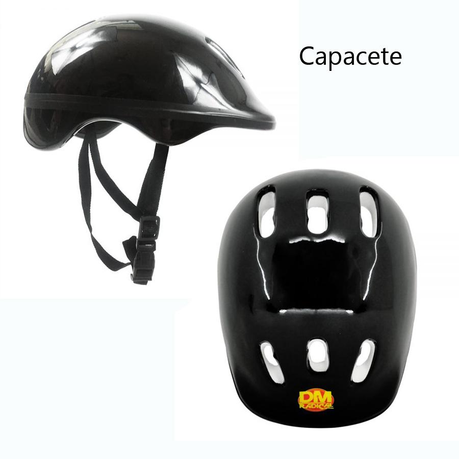 Kit Proteção Infantil Radical para Esportes DM Toys