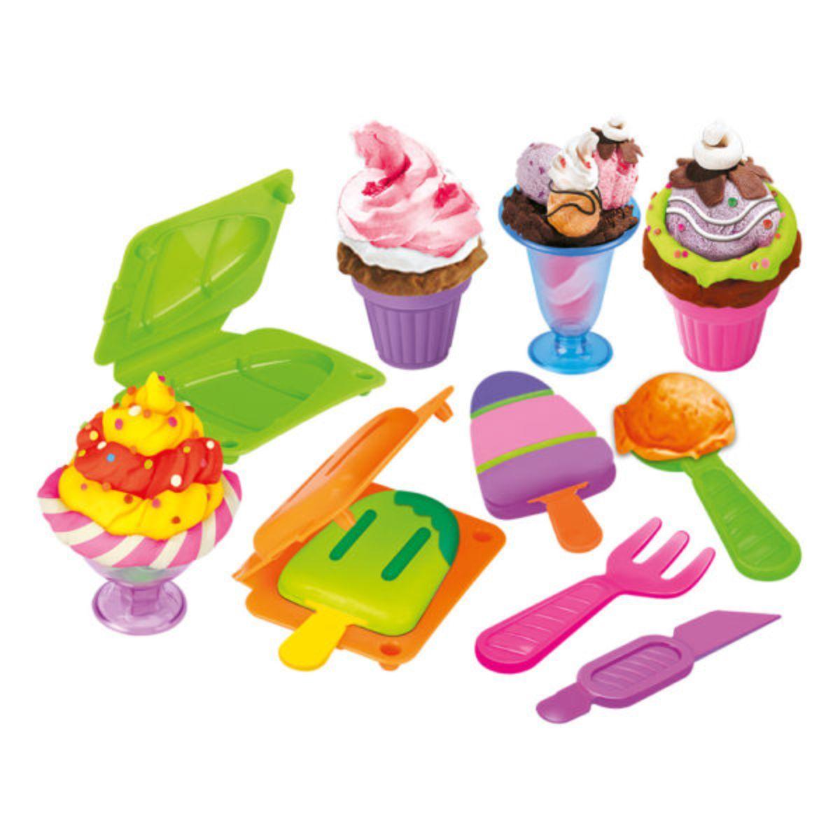 Modele e Brinque Fabrica de Sorvete DM Toys