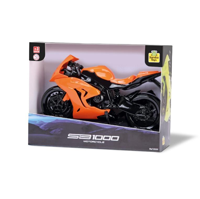 Moto Sb1000 Clássico Motorcycle Brinquedo Infantil