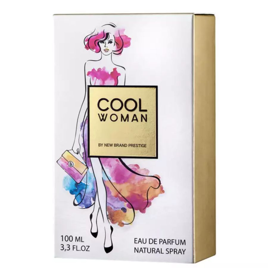 Perfume Feminino Cool Woman Paris Elysees
