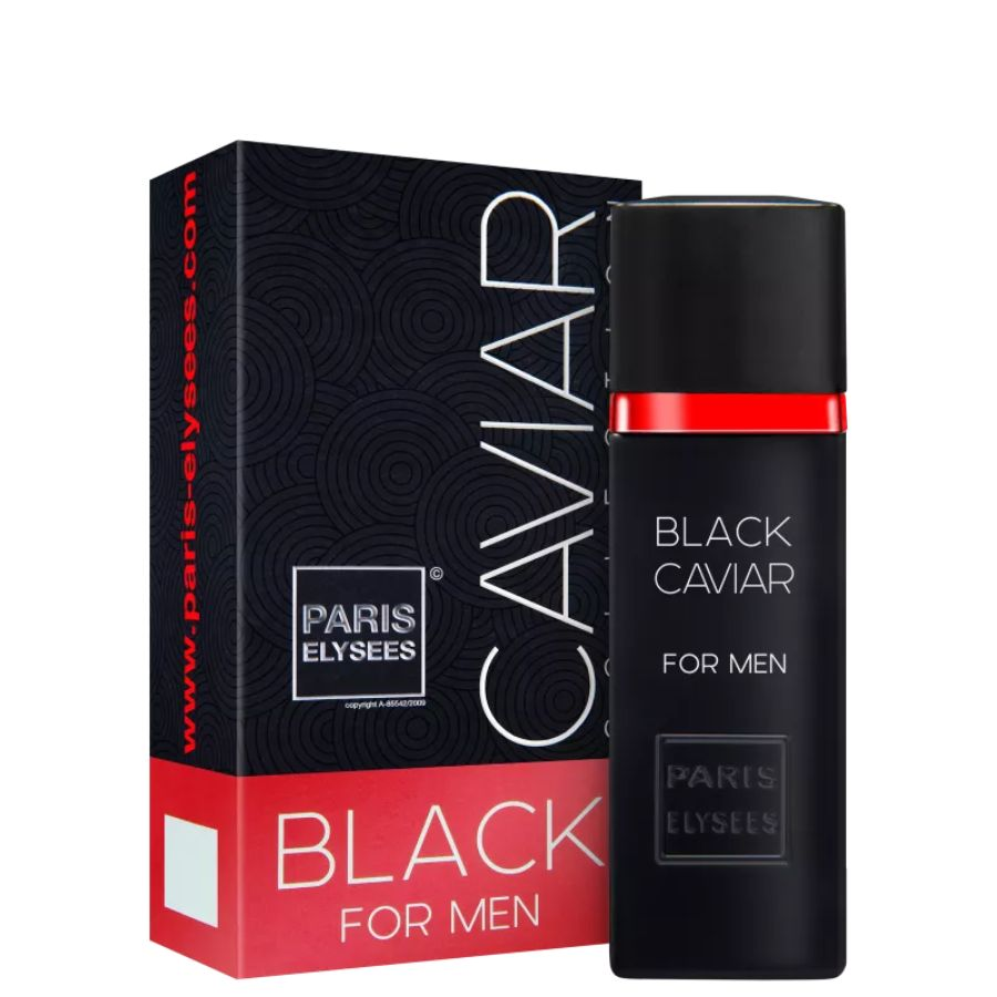 Perfume Masculino Black Caviar Elysees 100ml
