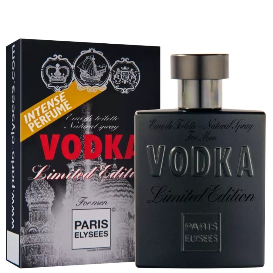 Perfume Masculino Vodka Limited Edition Paris Elysees 100ml