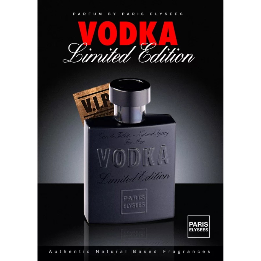 Perfume Masculino Vodka Limited Edition Paris Elysees 100ml