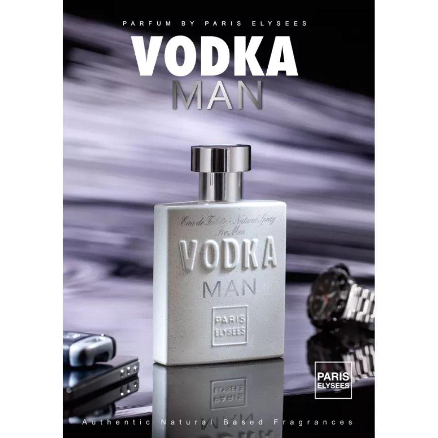 Perfume Masculino Vodka Man Paris Elysees 100ml