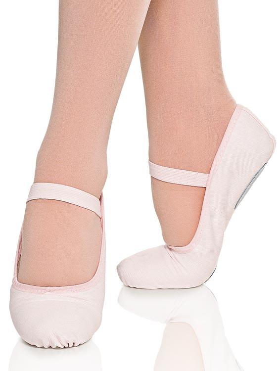 Sapatilha Ballet Rosa meia ponta Capezio com sola dividida