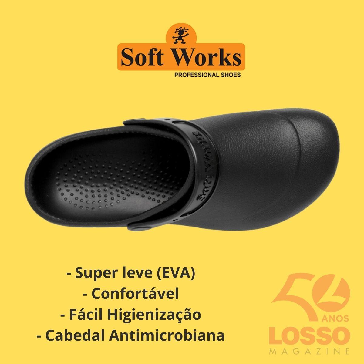 Sapato Babuch Profissional Soft Works Antiderrapante BB60