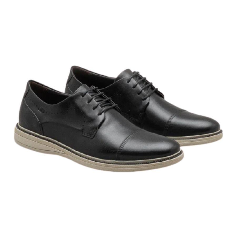 Sapato Social Oxford Democrata com Amarril Masculino Adulto