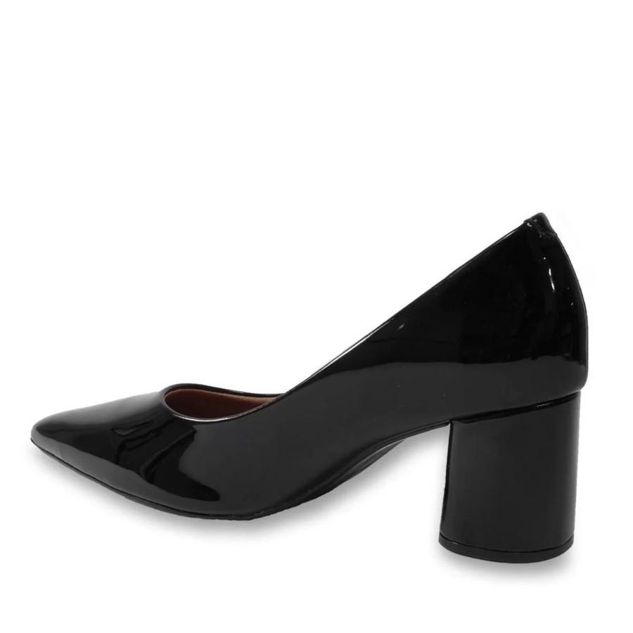 Sapato Vizzano Bico Fino Verniz Feminino