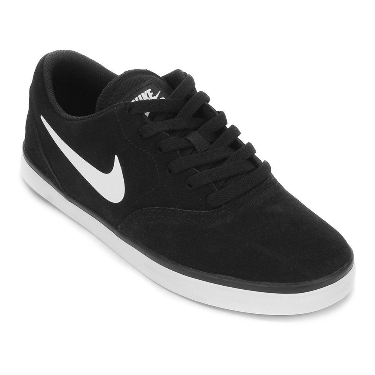 Tênis Nike Sb Check Preto e Branco