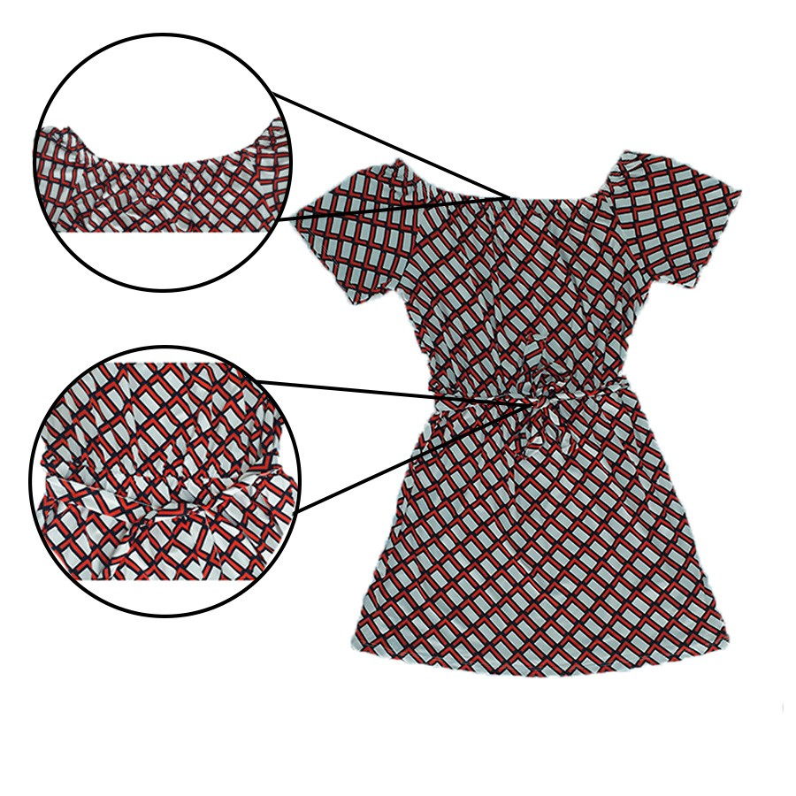 Vestido Ciganinha Estampado Vila Flor Feminino Adulto