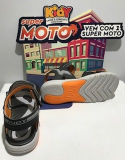 Sandália Kidy - MOTO Ref. 02105200230 - Pto-Lar