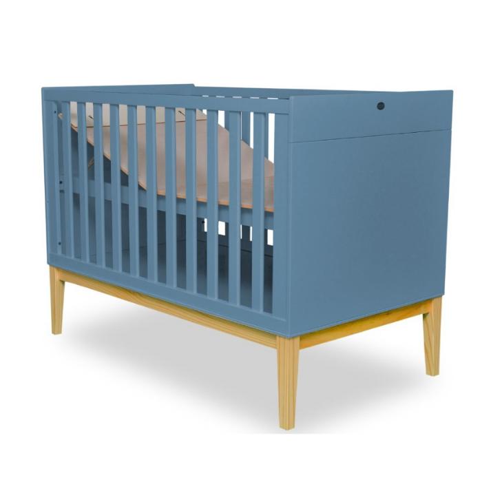 Berço Infantil Amor Perfeito Azul  - Divicar Móveis