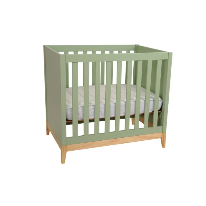 Berço Infantil Médio Amor Perfeito Verde - Divicar Móveis